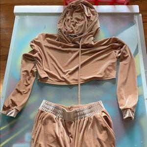 Naked Wardrobe sweat suit set